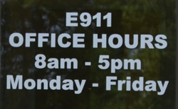 e911 office hours